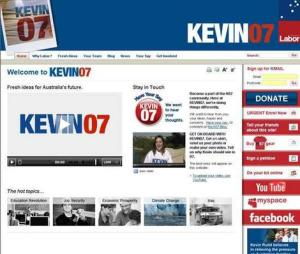 Kevin 07 goes digital - image courtesy of the Brisbane Times